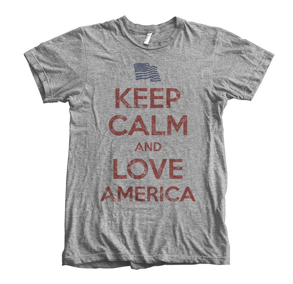 Keep Calm and Love America - Heather Gray