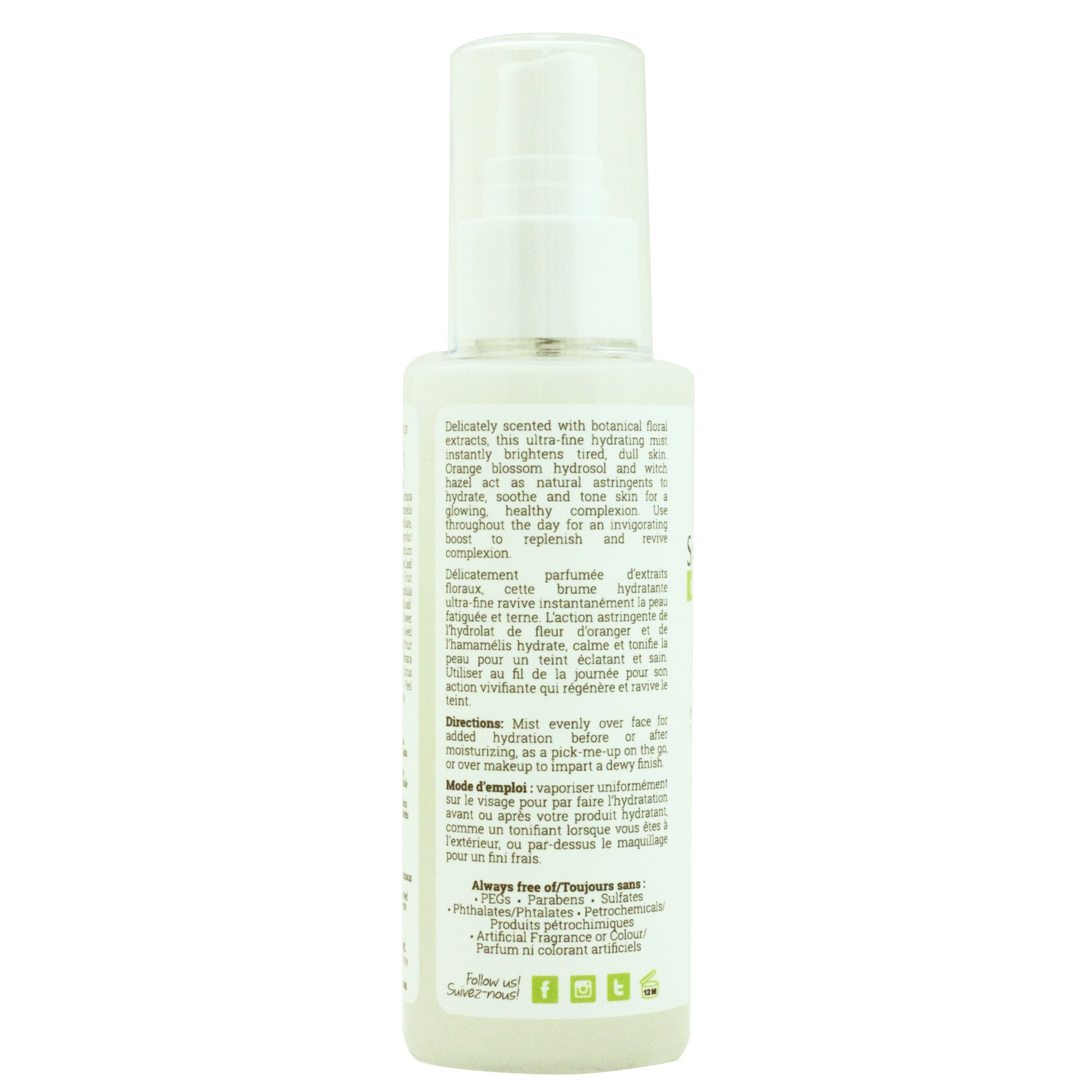 Smith Farms Radiance Renewing Facial Mist