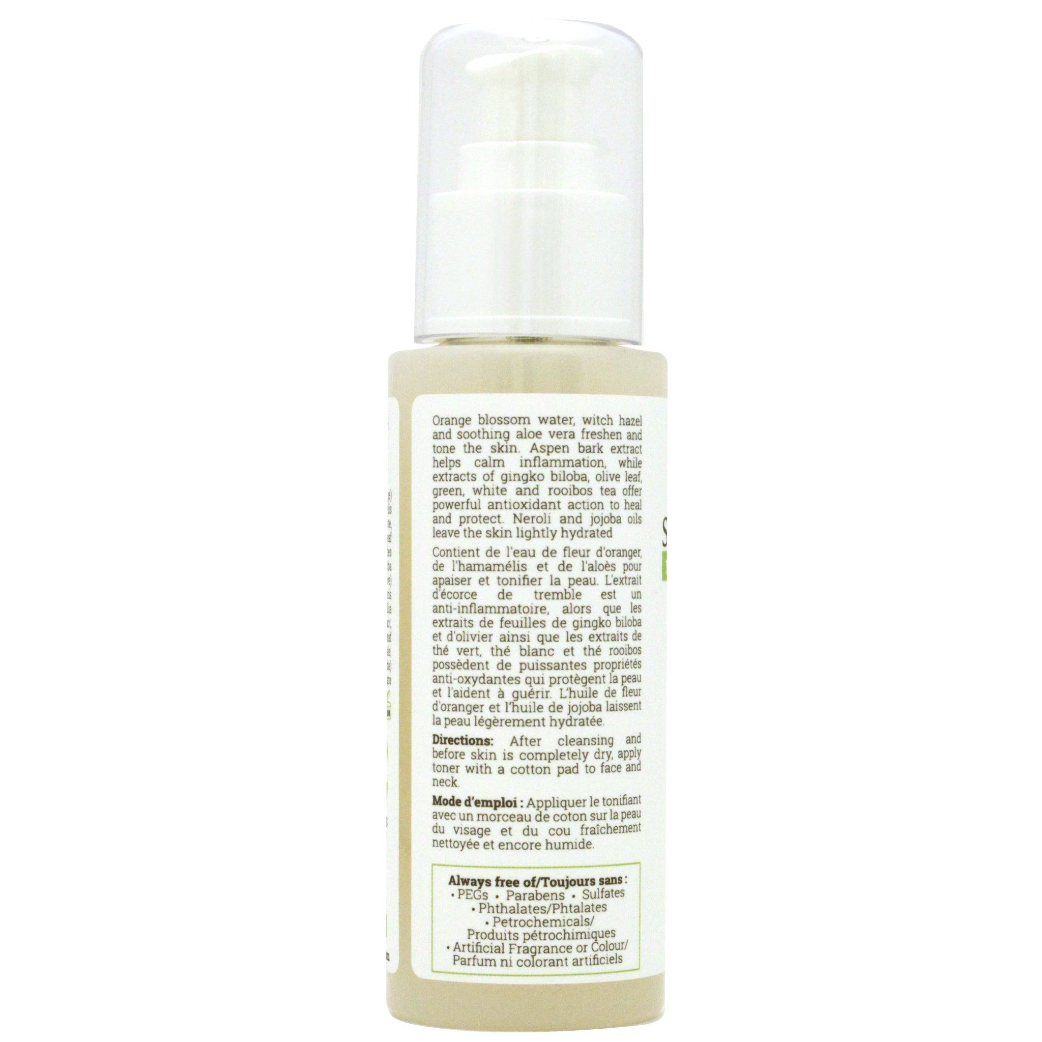 Orange Blossom Facial Toner