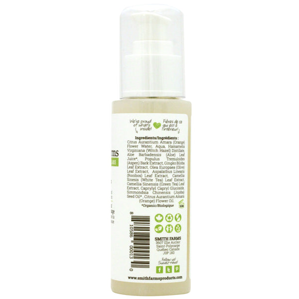 Orange Blossom Facial Toner Tones Soothes And Reduces