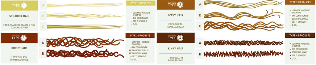 Andre Walker Hair Types
