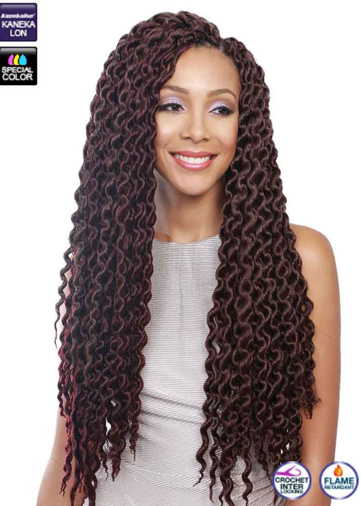 Crochet Hair Untwisted : Senegal Bomba Twist 24 WIGgIT