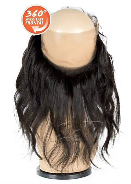 Bare and Natural 360 Lace Frontal - Loose Wave