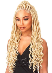 4x4 Part Swiss Lace Wig Goddess Locs
