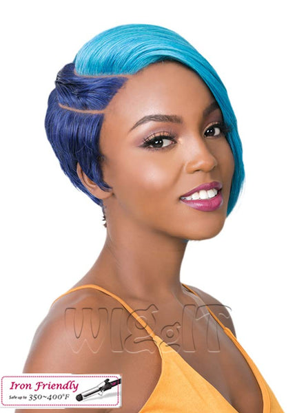 Two Block Cut Wig