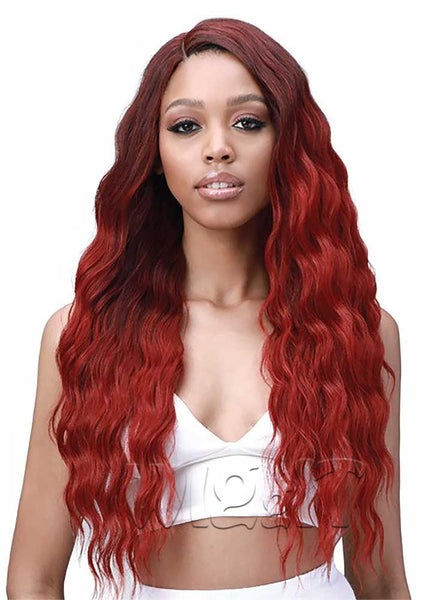 Miss Origin Bundle Natural Beach Curl Weave FREE Closure