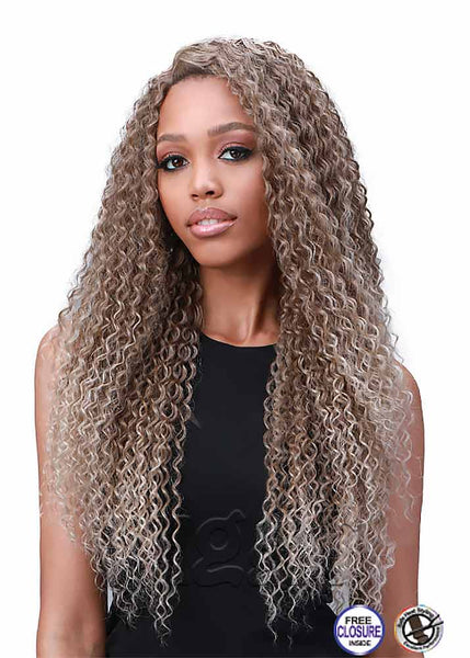 Miss Origin Bundle Jerry Curl Weave FREE Closure