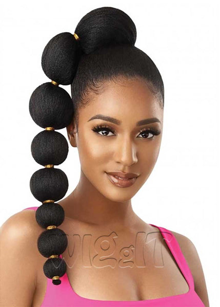 Afro Puff Bubble Ponytail