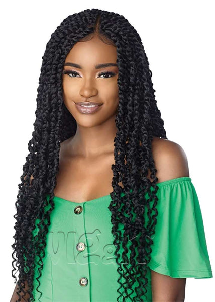 4x4 Part Swiss Lace Wig Passion Twist 28