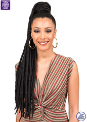 Clip-in Faux Locs Ponytail