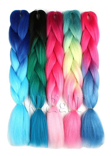 Colour Braid Extensions