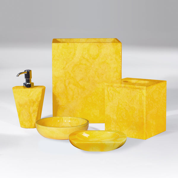 Bath Accessories - Sunflower Yellow