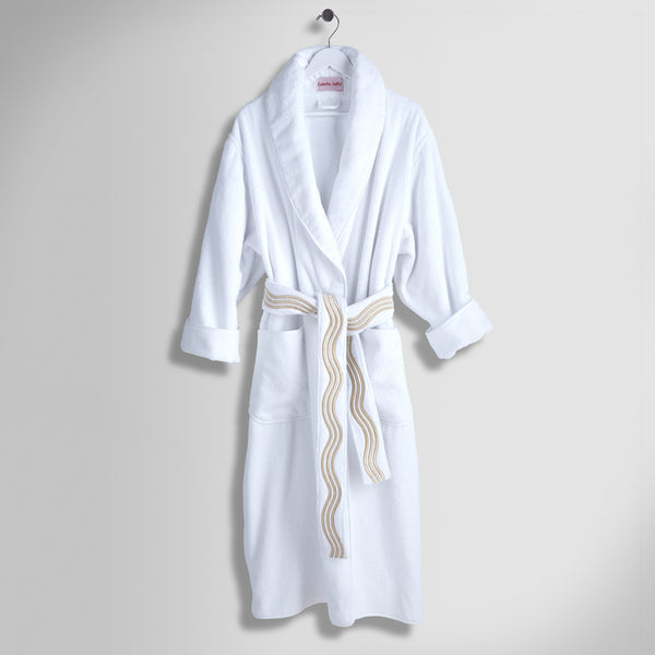 Onde - Shawl Collar Robe with Belt