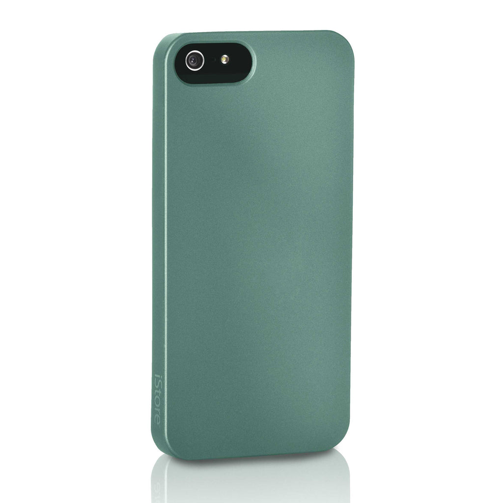 Slim Guard Case for iPhone 5, Metal Green