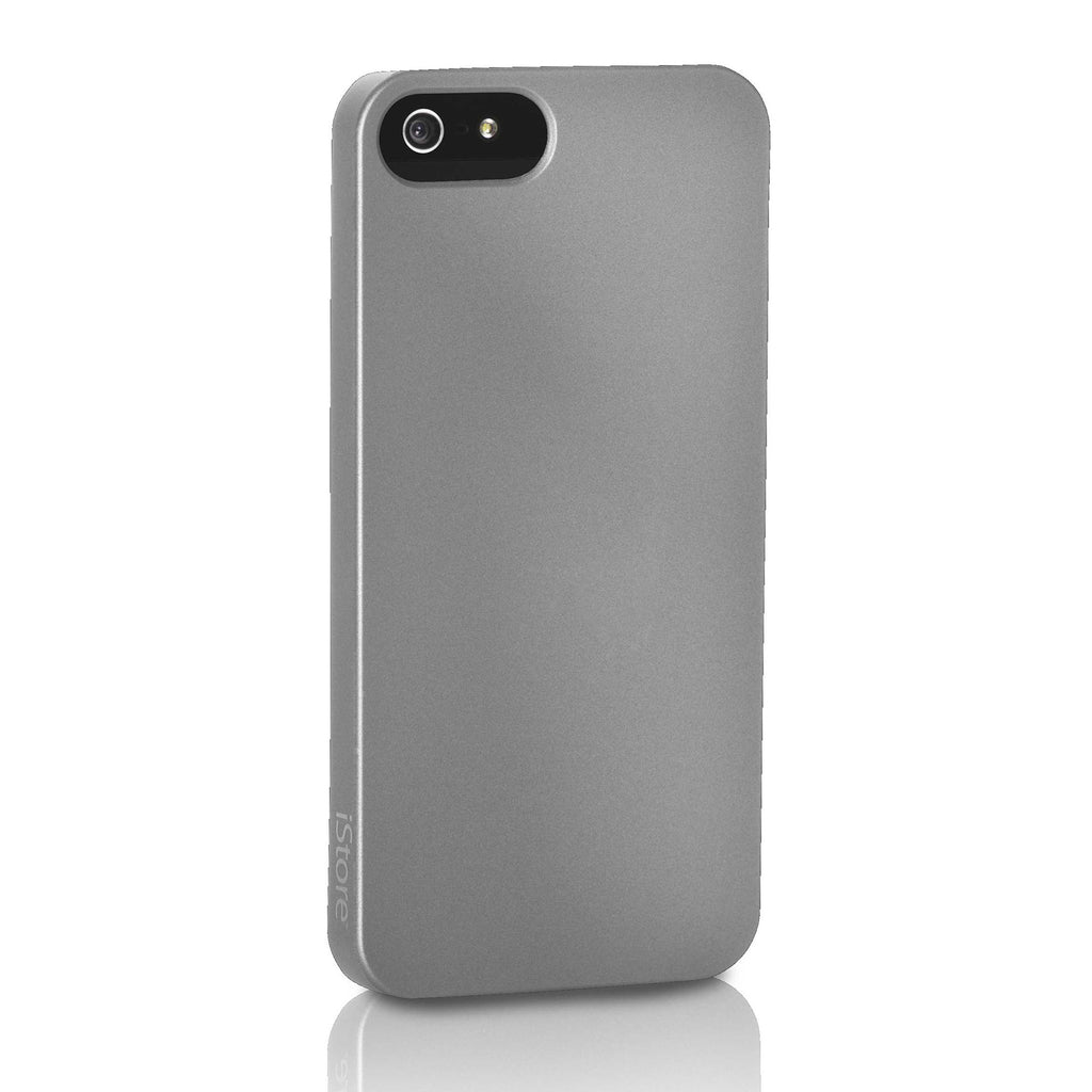 Slim Guard Case for iPhone 5, Metal Black