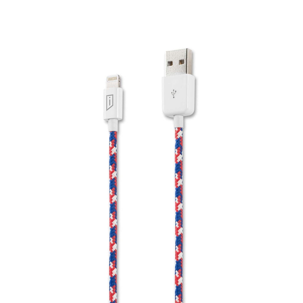 Woven Lightning Charge Cable, 1.2m