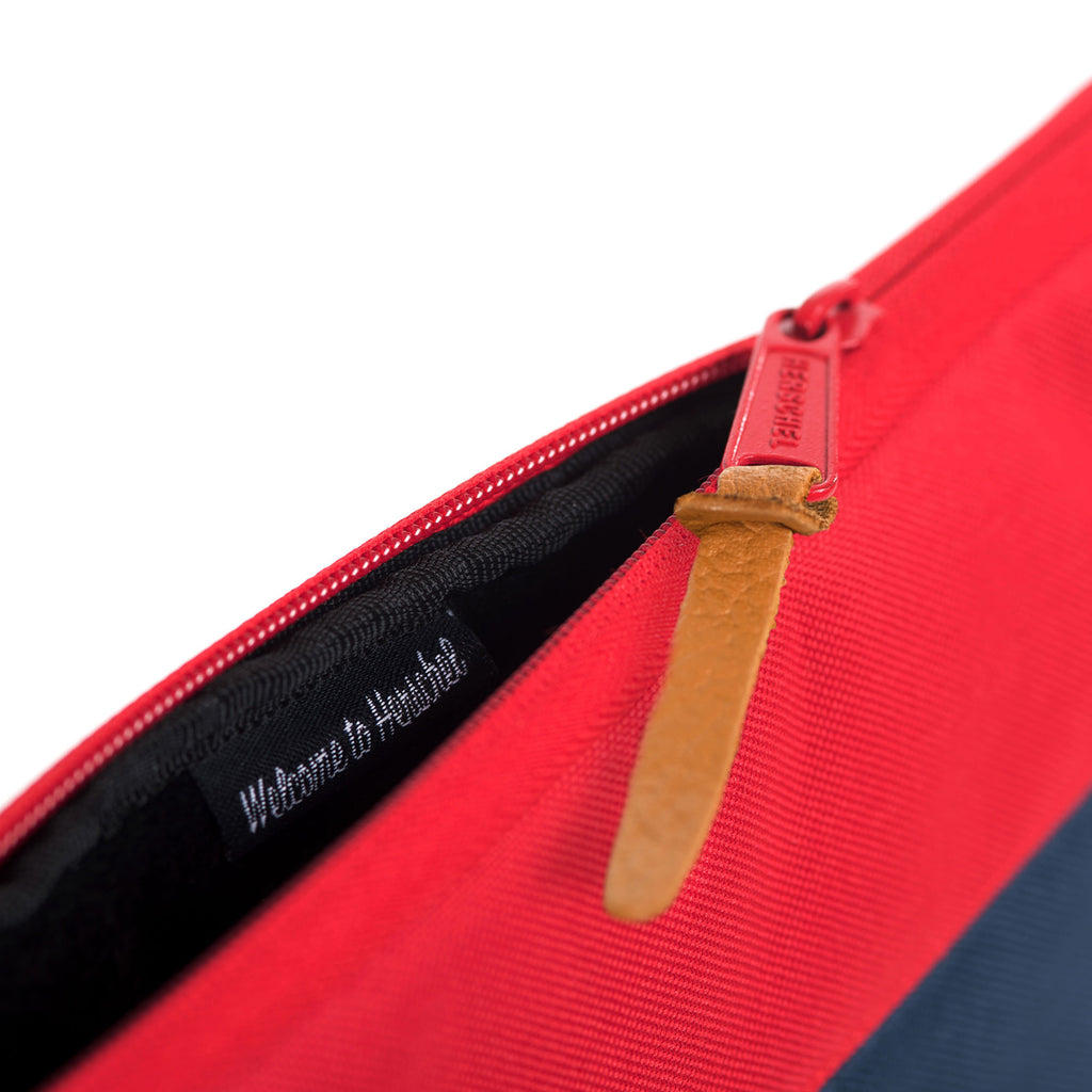 "Anchor Sleeve for 13"" Laptop, Blue/Red"