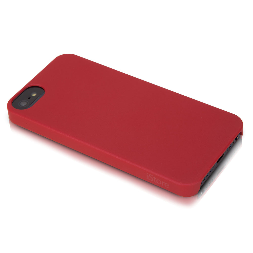 Slim Guard Case for iPhone 5, Chili Red