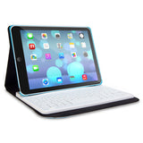Rotating Keyboard Folio iPad Air, Blue/White
