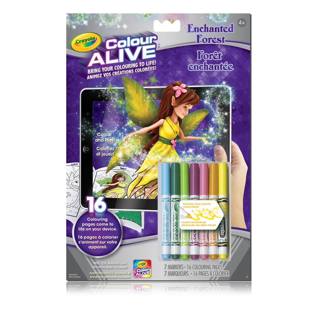 Colour Alive Booklet, Enchanted Forest