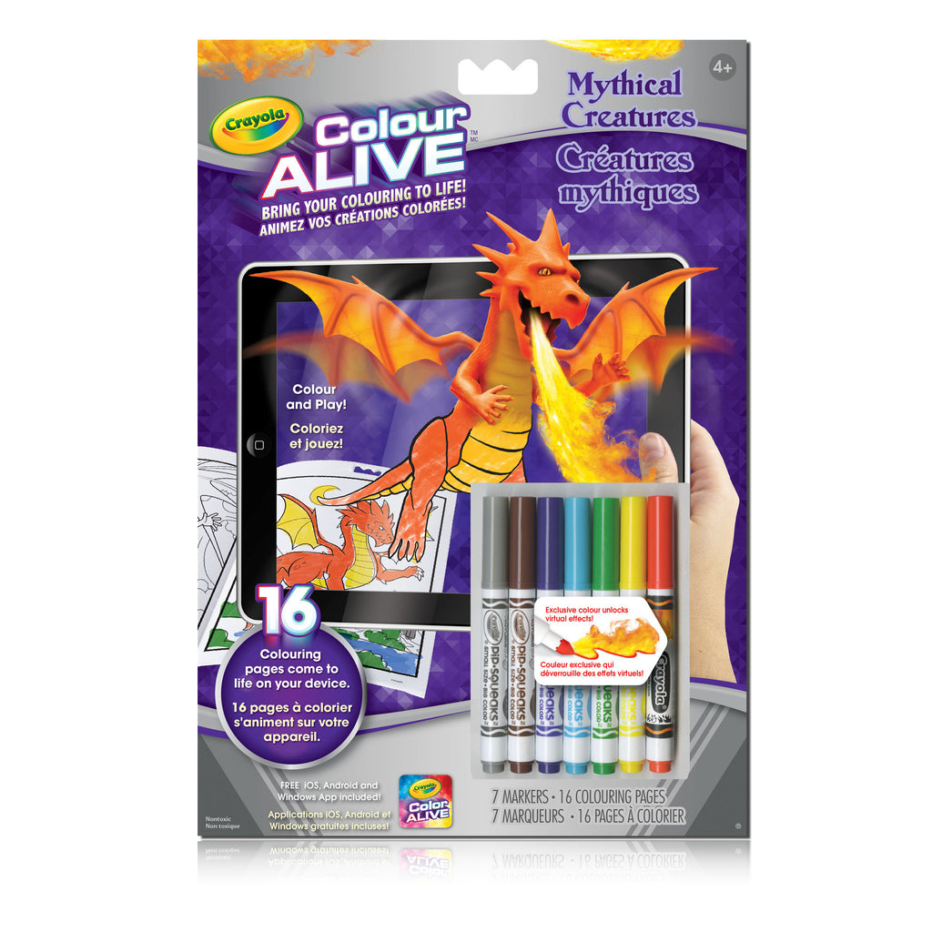 Colour Alive Booklet, Mythical Creatures