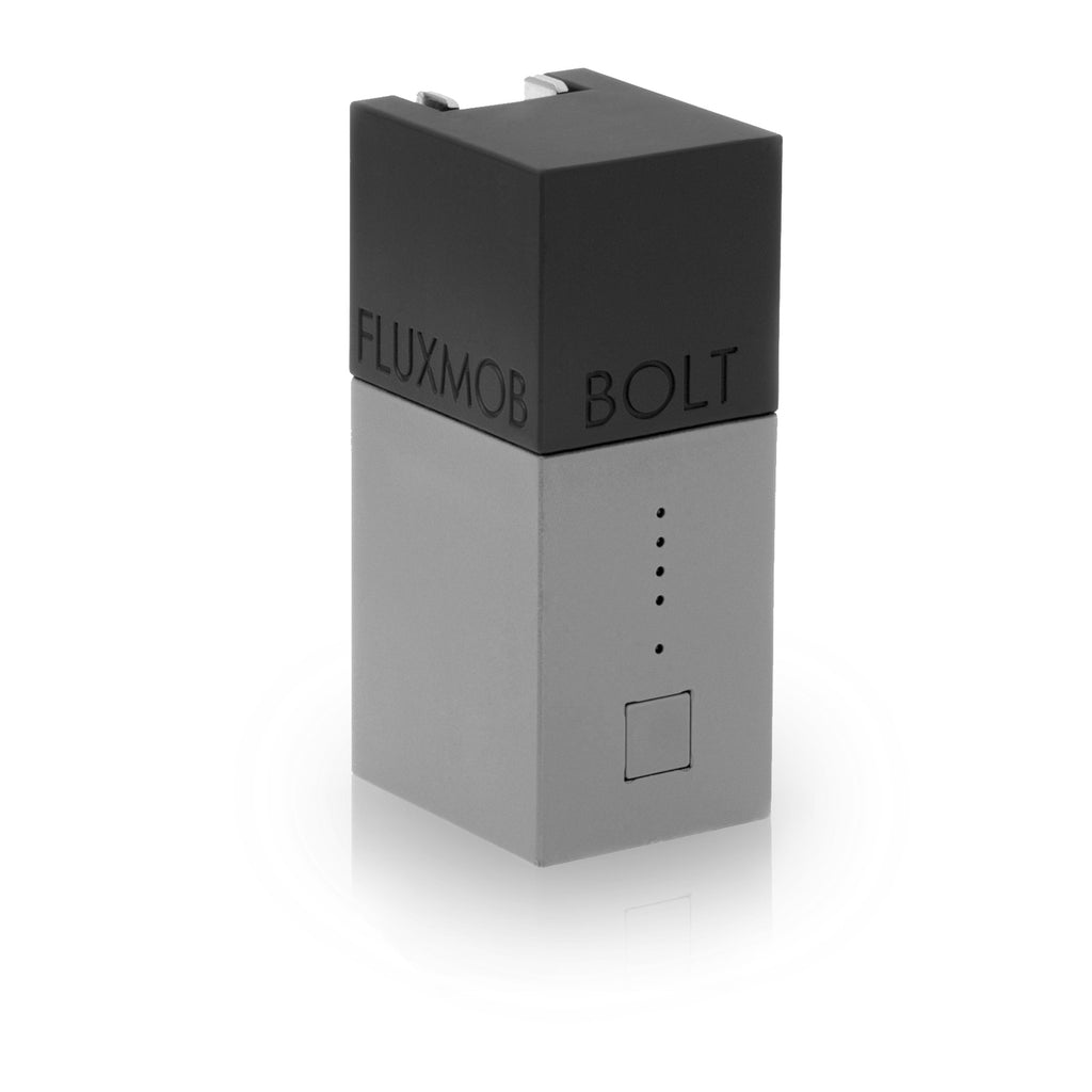 Bolt Portable Battery & Wall Charger, Grey