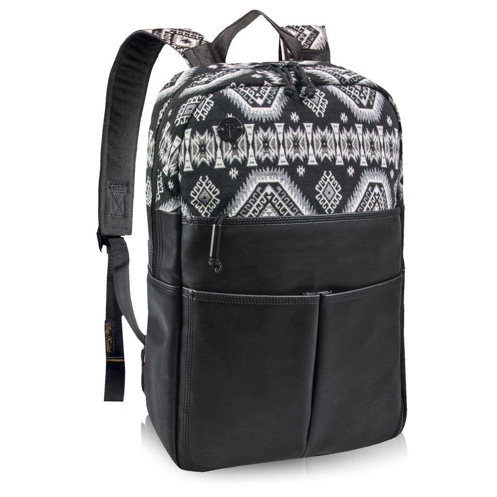 Backpack, The Departure, Black/White