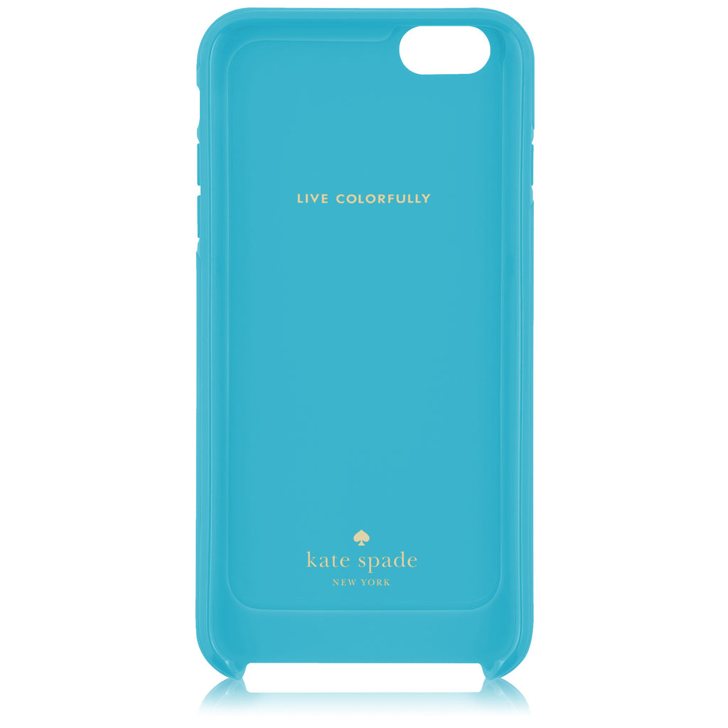 Hybrid Hardshell Case for iPhone 6+, K.Stripe/Blue/Grn