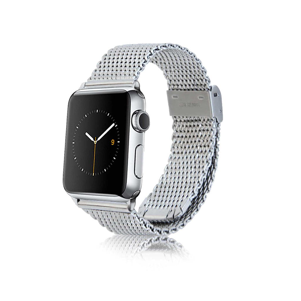 Mesh Band, Polished Silver Adpt 38