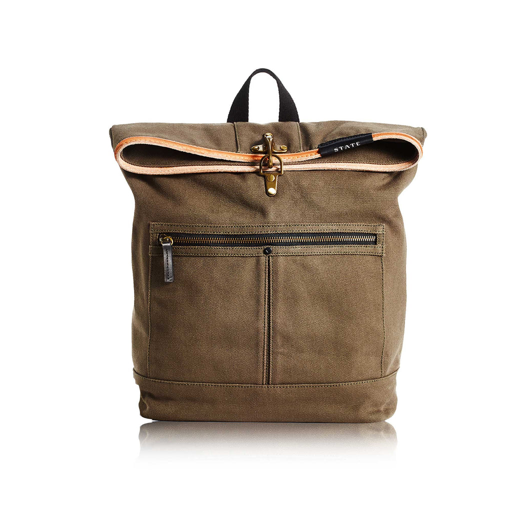 The Smith Bag, Olive/Black