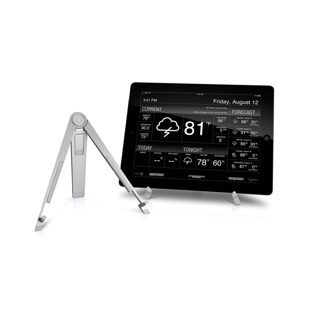 Compass Stand for iPad, Silver
