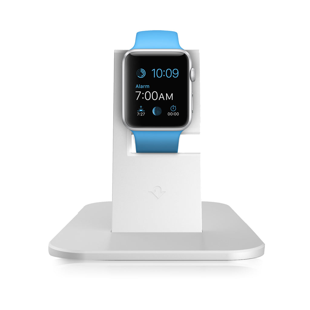 HiRise Stand for Apple Watch, Silver