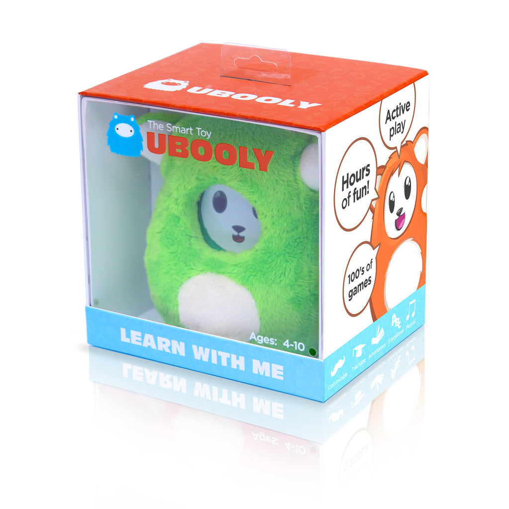 Smart Plush Toy for Kids, Small, Green