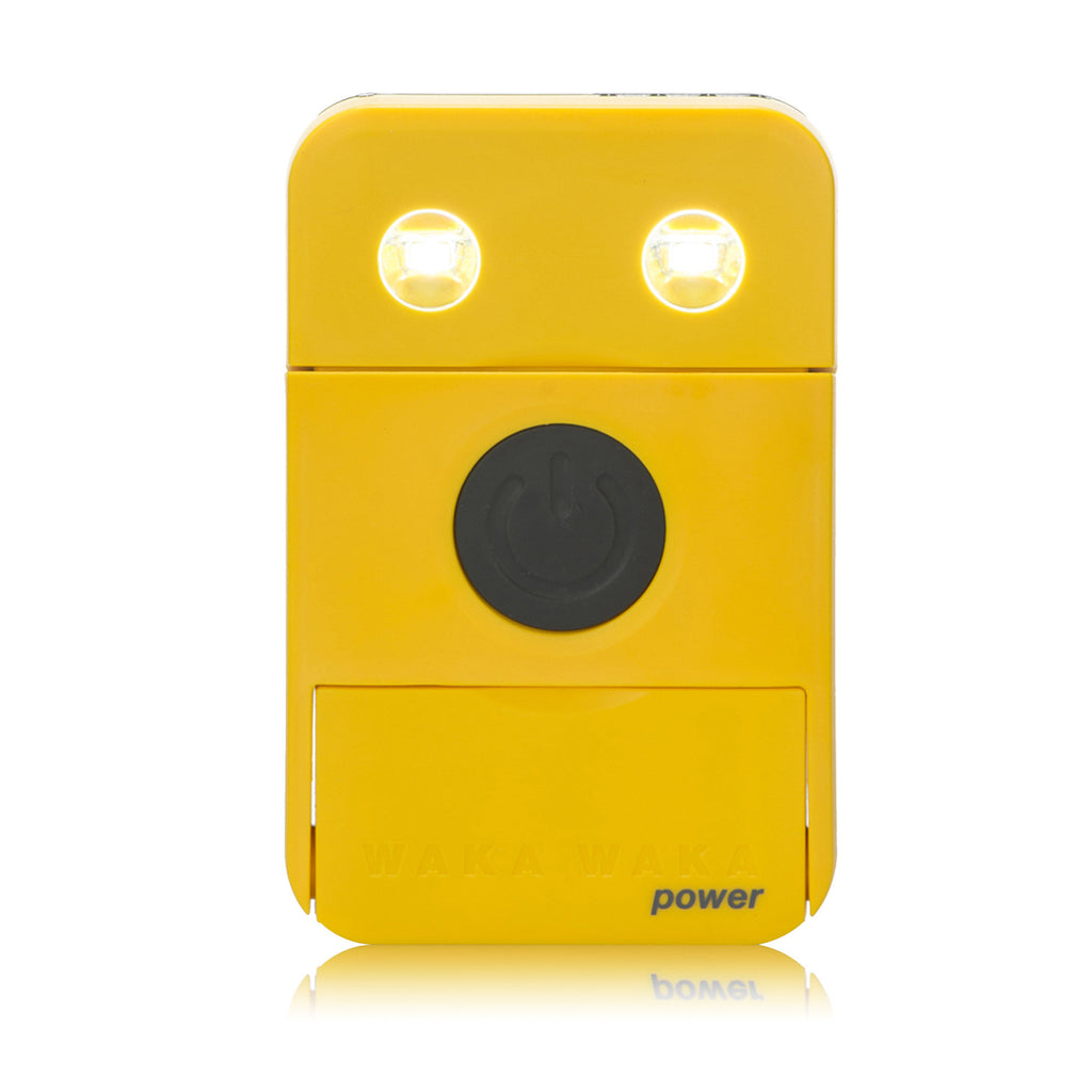 Power+ Solar Battery Charger, Yellow