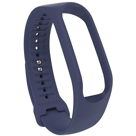 TomTom Touch Body Composition Fitness Tracker Strap Dark Blue, Large