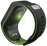 TomTom Runner 3 Cardio + Music GPS Watch (Black / Green) Large