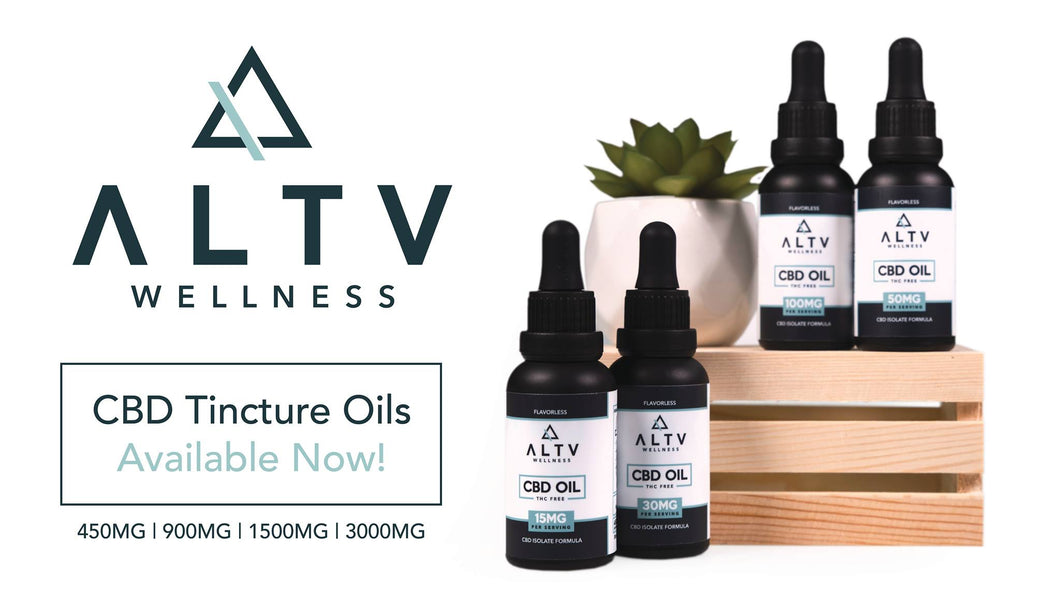 ALTV Wellness Tincture Oils