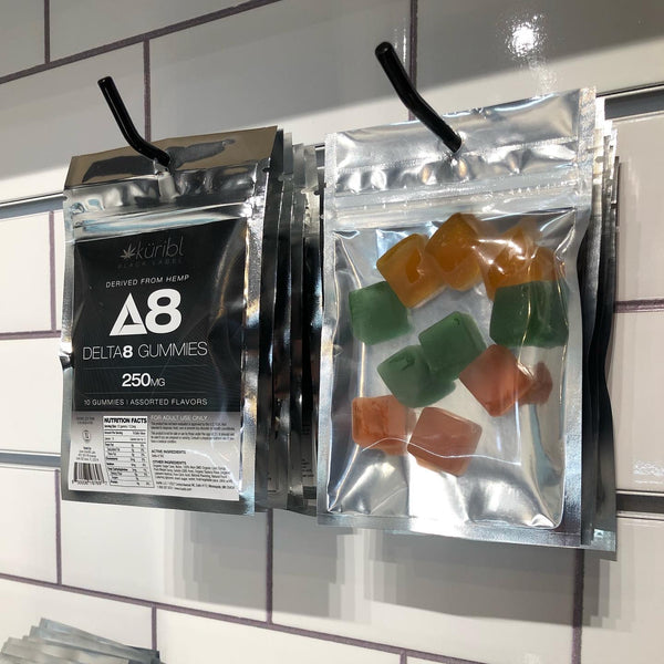 Kuribl Minnesota Made D8 Gummies