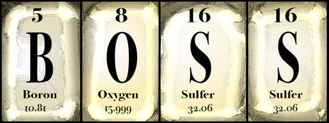 Boss Periodic Table