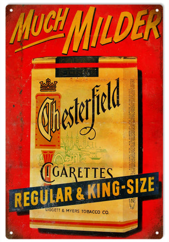 Reproduction Chesterfield Cigarette Sign