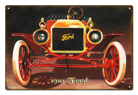 Ford Automobile Sign Metal Sign