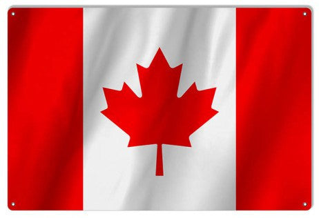 Canada International Flag. 12″×18″