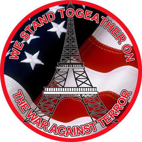 The War Against Terror Military Reproduction Sign 14″ Round