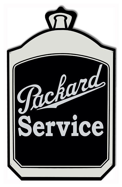 Packard Service Garage Shop Laser Cut Out Reproduction Sign 15″x24″