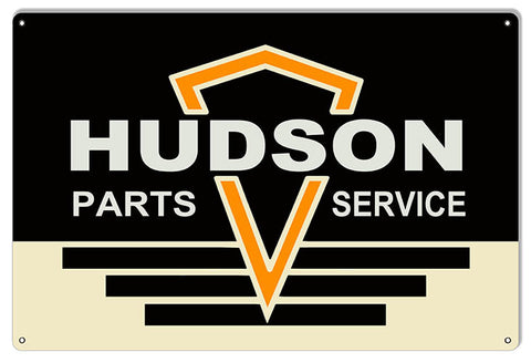 Large Hudson Parts Service Garage Shop Reproduction Sign 16″x24″