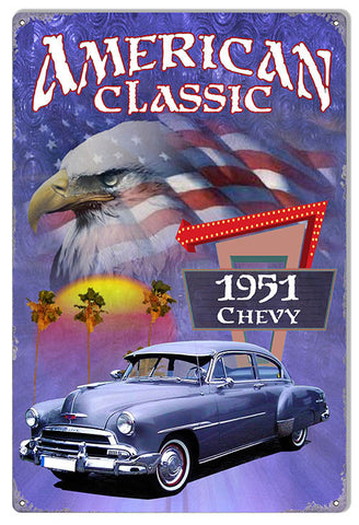 1951 Chevy Classic By Artist Phil Hamilton 12″x18″
