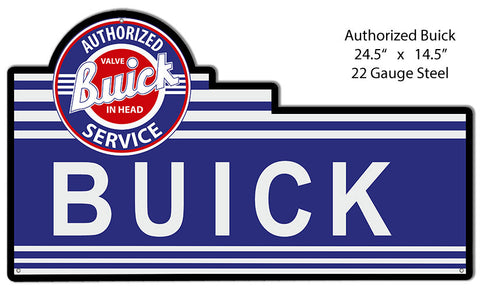 Service Buick Laser Cut Out Reproduction 14.5″x24.5″