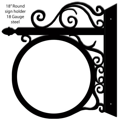 Sign Holder Laser Cut Out 18″x18″