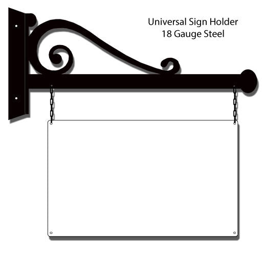 Universal Sign Holder Laser Cut Out 9.5″x 24″
