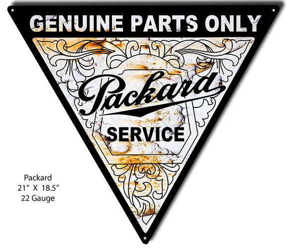 Packard Service Laser Cut Out Sign 18.5″x21″